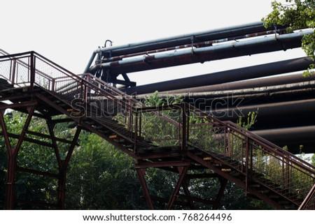 Metal Stairway To The Sky