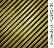 metal stripe pattern - stock photo