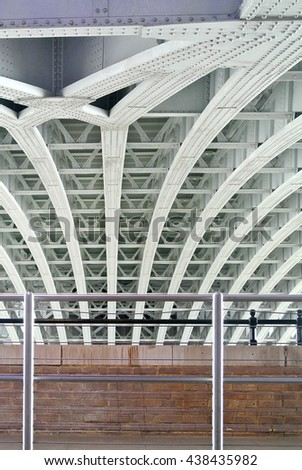 metal structure  - stock photo