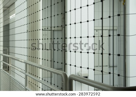Metal structure protection background - stock photo