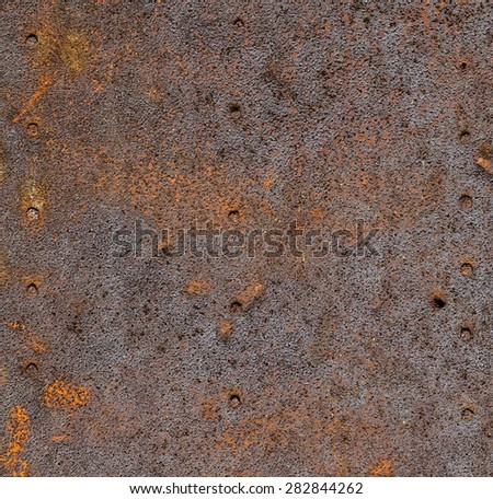 metal surface making an abstract texture - stock photo