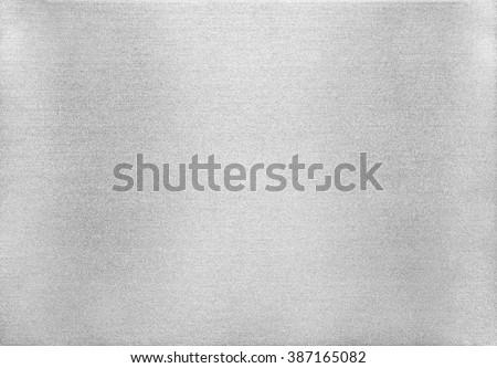 Metal texture background. Macro photo of brushed aluminium. - stock photo