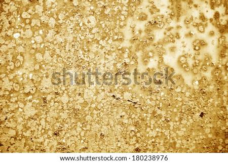 metal texture brown tones - stock photo