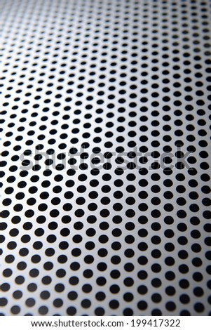Metal texture close-up - stock photo