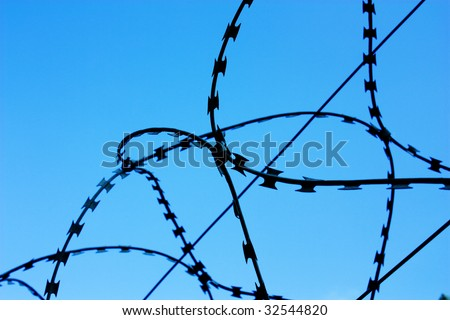 Metal Wire - stock photo