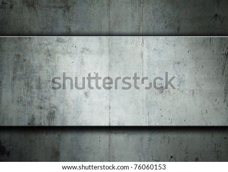 metallic abstract background - stock photo