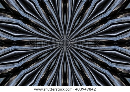 metallic abstract design in various shades of colors