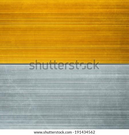 Metallic background textures - stock photo