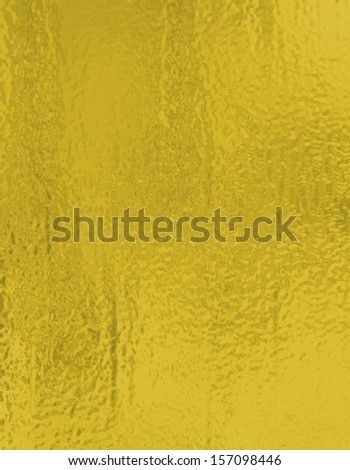 metallic gold background foil paper illustration for Christmas background wrapping paper design for Christmas gift, shiny vintage grunge background texture with glossy shine for web design or brochure - stock photo