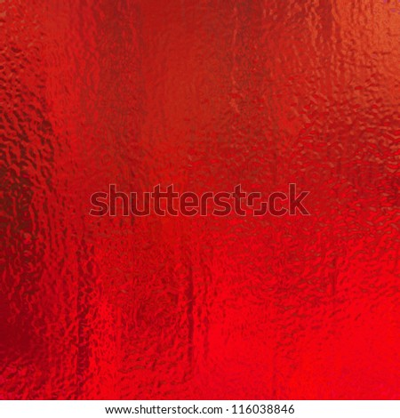 metallic red background foil paper illustration for Christmas background wrapping paper design for Christmas gift, shiny vintage grunge background texture with glossy shine for web design or brochure - stock photo