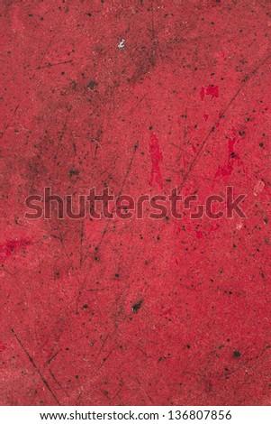 Metallic red pattern - stock photo