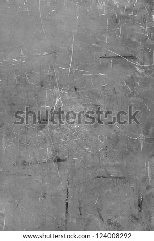 Metallic texture with scratches - stock photo