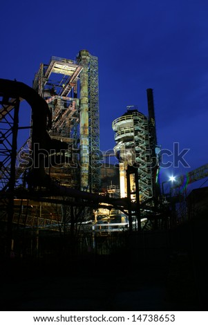 Metalworks - stock photo