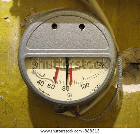 meter - stock photo