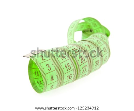 meter isolated on a white background