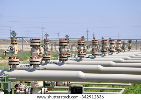 Metering Station Oil Manifold