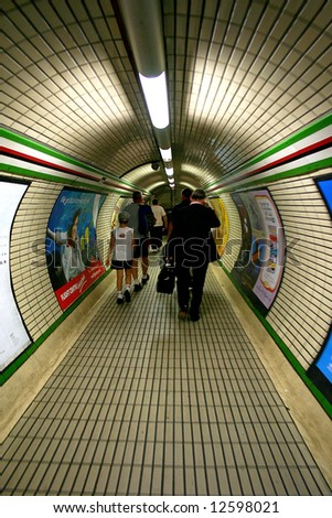 Metro - stock photo