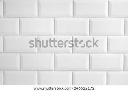 metro tiles - stock photo