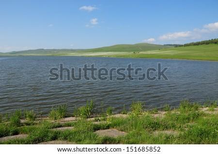 Metsavan reservoir, Armenia - stock photo