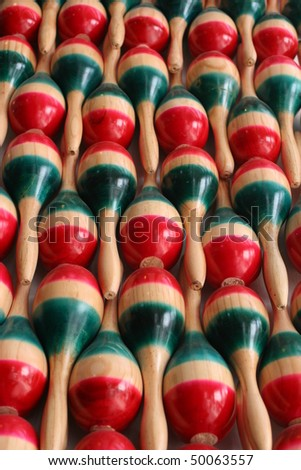 Mexcian market toys - stock photo