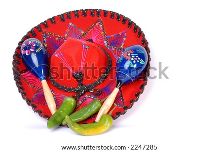 Mexican Celebration - stock photo