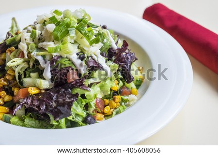 Mexican Chopped Salad  - stock photo