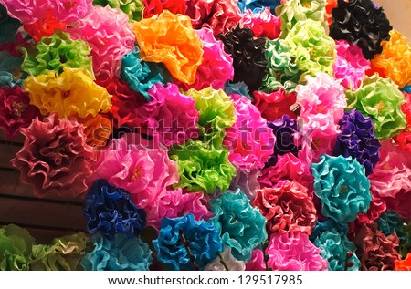 Mexican paper flowers stock photo royalty free 129517985 mexican paper flowers stock photo royalty free 129517985 shutterstock mightylinksfo