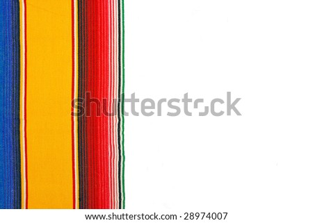 Mexican poncho - stock photo