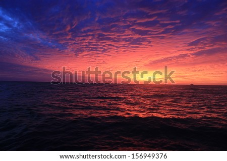 Mexican Sunset - stock photo