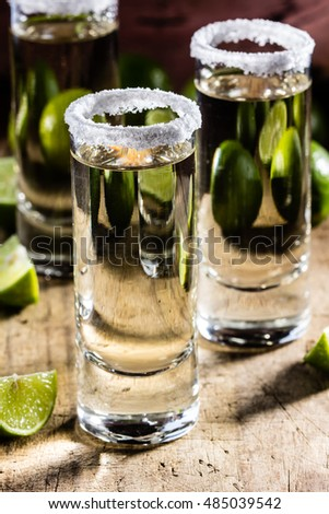 how to drink tequila shots with lemon and salt