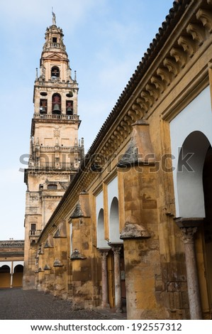 Mezquita-Cathedral of Cordoba (Spain) - stock photo