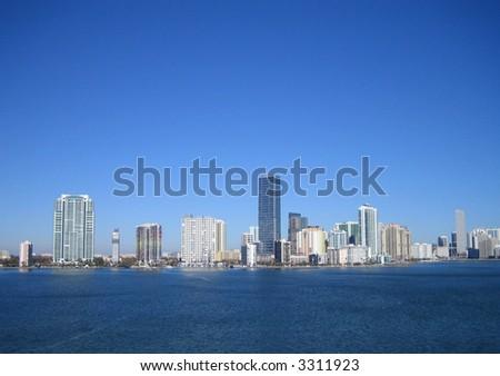 miami beach - stock photo