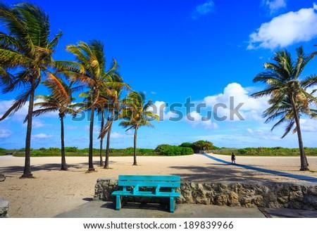 Miami Beach , Florida , USA  - stock photo