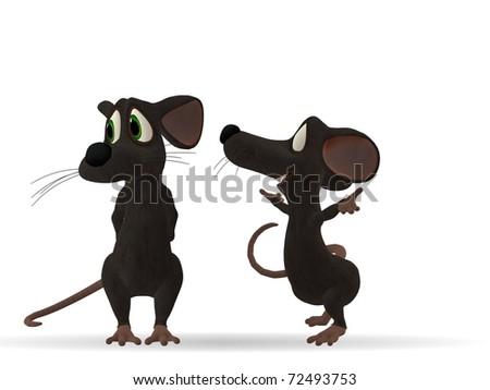 Mice - stock photo