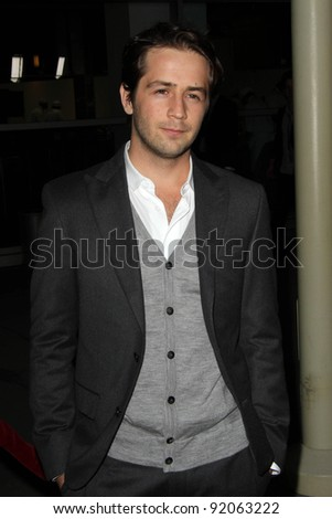 "Michael Angarano at the ""Ceremony"" Los Angeles Premiere, Arclight, Hollywood, CA. 03-22-11"