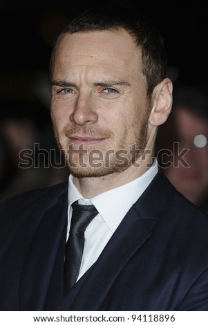 Michael Fassbender arriving for the London Critics Circle Film Awards 2012 at the Bfi, South Bank, London. 19/01/2012  Picture by: Steve Vas / Featureflash