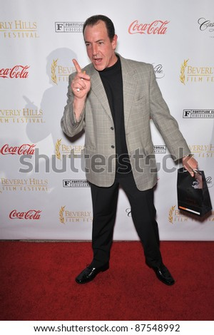 Michael Lohan (Lindsay Lohan's father) at the opening of the Beverly Hills Film Festival at the Clarity Theatre, Beverly Hills. April 1, 2009  Beverly HIlls, CA Picture: Paul Smith / Featureflash - stock photo
