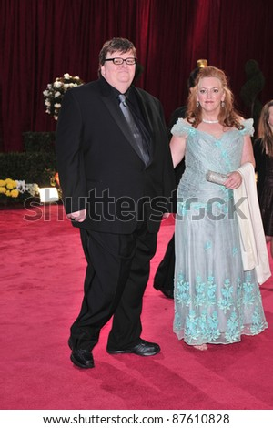 Michael Moore at the 80th Annual Academy Awards at the Kodak Theatre, Hollywood, CA. February 24, 2008 Los Angeles, CA Picture: Paul Smith / Featureflash