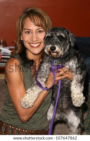 Michelle Bonev  at the party to celebrate the 100th Episode of 'Dog Whisperer'. Boulevard 3, Hollywood, CA. 09-17-08 - stock photo