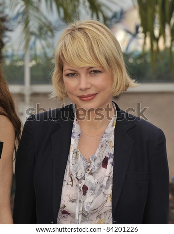 "Michelle Williams at photocall for her new movie ""Synecdoche, New York"" at the 61st Annual International Film Festival de Cannes.  May 23, 2008  Cannes, France. Picture: Paul Smith / Featureflash - stock photo"