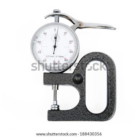 Micrometer - stock photo