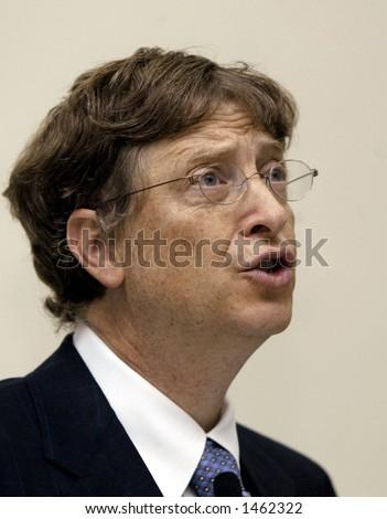 Microsoft chairman Bill Gates - stock photo
