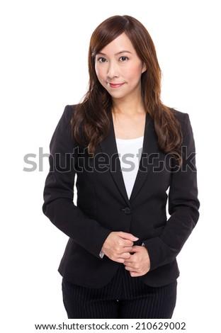Middle age businesswoman portrait - stock photo