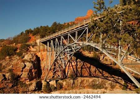 Midgely Bridge, Oak Creek Canyon, Sedona, Arizona