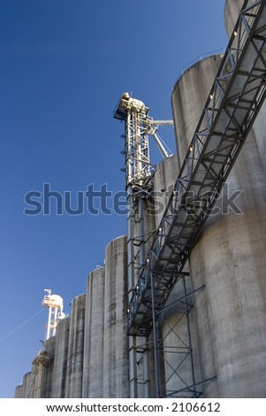midwest corn and grain elevators