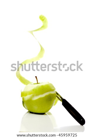 migrating peels - stock photo