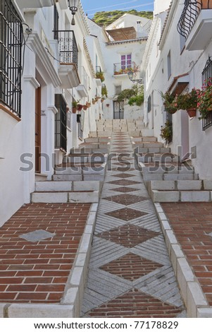 Mijas, Village in Andalusia, Spain. - stock photo