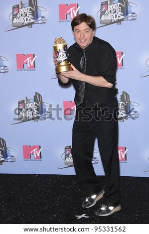 Mike Myers at the 2007 MTV Movie Awards at the Universal Amphitheatre. June 4, 2007 Los Angeles, CA Picture: Paul Smith / Featureflash