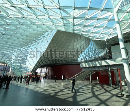 Construction site generic background intentionally blurred stock photo 267271703 shutterstock for International interior design exhibition