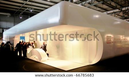 Milan italy april 12 new mini stock photo 137706584 shutterstock for International interior design exhibition